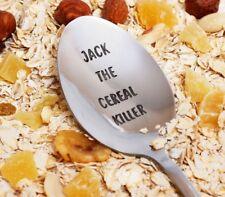 Custom Cereal Killer Spoon, Personalized Spoon, Cereal Killer