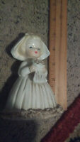 Vintage Ceramic Bride Figurine Made In Japan 5 Inches High