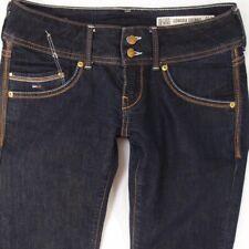 Ladies Womens Tommy Hilfiger SONORA SKINNY Stretch Blue Jeans W28 L32 UK Size 8