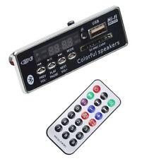 Car aux player usb/sd/audio fm/bluetooth MP3 decoding board with remote control