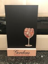 Gordon's Pink Premium Gin Chalk Board Pub Shed Bar Man Cave