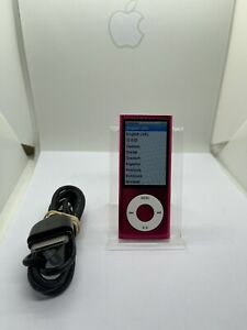 Apple iPod Nano 5. Generation Pink Rosa 8GB 5G 5th NEW NEU TOP
