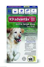 Bayer K9 Advantix II Over 55lbs  two pack two months new sealed EPA product