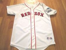 VINTAGE MAJESTIC BOSTON RED SOX CURT SCHILLING 2004 WORLD SERIES JERSEY YOUTH XL