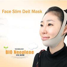 Face Slim Deit Mask Chin Cheek Neck Slim Lift Up Anti Wrinkle Massage Korea