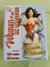 Women of the DC Universe Wonder Woman Bust Terry Dobson Series 2