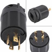 NEMA L14-30P 7KW Male Twist Lock 4 Wire Power Cord Plug Connector 30A 125V-250V