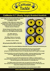 CatMaster Tackle R.T. Braided Cat Leader( Green) 100lb