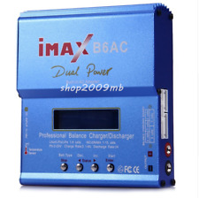 80W iMAX B6AC 6A Lipo Battery Balance Charger LCD Display Discharger RC Model