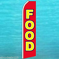 Food Flutter Flag Concession Advertising Banner Sign Bow Feather Swooper 25 1109