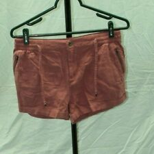 Iris Red Booty Short Shorts Womens Size Large
