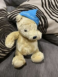Gund Classic Winnie the Pooh Thinking Hat Plush Bear