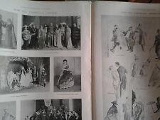 L'illustrazione italiana 1928  CARNEVALE TORINESE E AMBROSIANO  tavola  DIAZ