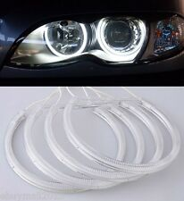 4X WH CCFL Halo Ring Angel Eyes For BMW E36 E46 Projector Devil Demon Corona DRL