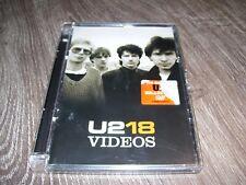 U2 - U218 Singles 18 * DVD 2006 EUROPE / UK PAL ALL *