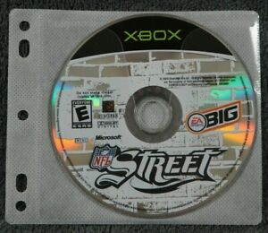 NFL Street (Microsoft XBOX, 2004) ~ VIDEO GAME DISC ONLY ~