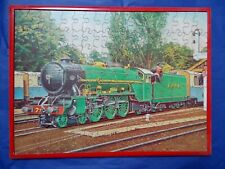 Vintage VICTORY CONSTRUCTIONAL WOODEN JIGSAW Miniature Express complete