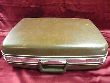 Vintage brown Samsonite Sihlouette suitcase luggage baggage clothe used travel