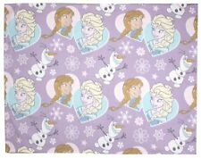 Official Disney Frozen Crystal Rotary Fleece Blanket Kids Bed Throw 120x150cm