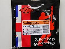 Rotosound RS66S Swing guitare basse set courte échelle acier roundwound 40-90 gauge