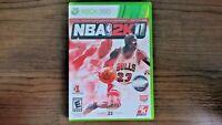Microsoft Xbox 360 NBA 2K11 Complete Basketball Sports 2K Game 2010