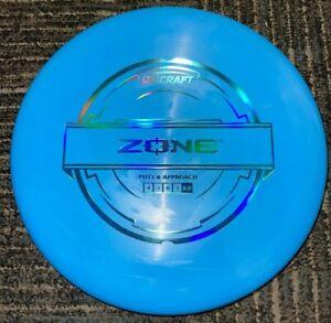 DISCRAFT PUTTER LINE ZONE DISC GOLF PUTTER @ APPROACH 173-4G BL/HOLO @ LSDISCS