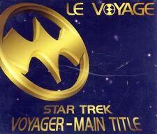 Le Voyage Star Trek voyager-main title (incl. 2 versions, 1996) [Maxi-CD]