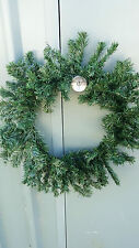 DIY Christmas Green Spruce Wreath door hanging Xmas 40 cm Craft  Make Your Own