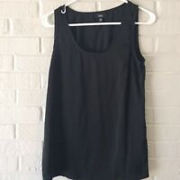 Mossimo Womens Black Tank Top Sleeveless Size XS