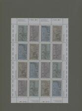 Kanada 1157/60 Kleinbogen Weltkrieg II postfrisch