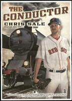 2020 Archives Box Topper Mini Poster  Chris Sale - Boston Red Sox