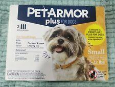 PetArmor Plus Flea & Tick Treatment for Small Dogs (5-22lb) ,3 Doses