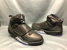 new concept 3165a 14e16 New ListingNike Men s Jordan Son Of Basketball Sneakers Leather Black Silver  Size 13 NWOB!