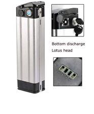 36 V 15Ah Silver Fish Lithium E-BIKE Battery pack pour avec Chargeur Base & Plaque