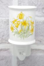 Daffodil Night Light Plug-in CeramicOn/Off Switch Nightlight Welsh Electric 5043