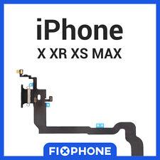CONNECTEUR DE CHARGE IPHONE X XR XS MAX NAPPE DOCK FLEX PORT GRIS NOIR PREMIUM