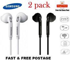 2X Samsung Galaxy S6 S7 S5 Edge Note 5 Headphones Headset Hands Free Earphones
