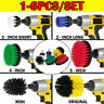 Power Scrubber Drill Brush Set Cleaner Spin Tub Shower Tile Grout Wall Brushes