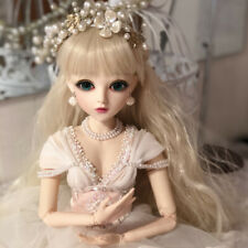 1/3 BJD Doll Fashion Wedding Bride Toy Doll For Baby Girl Birthday Gift Full Set