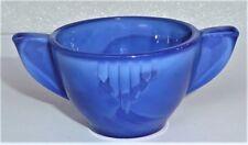 Akro Agate Small Interior Panel Royal Blue Sugar ~ Child Tea Set