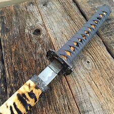 "40"" TIGER DESIGN SAMURAI NINJA Bushido KATANA Japanese Sword CarbonSteel Blade-S"