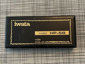 Iwata HP SB Airbrush With Accessories