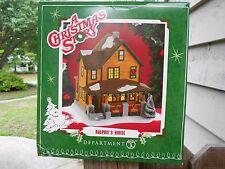 DEPT 56 A CHRISTMAS STORY RALPHIE'S HOUSE NIB *Still Sealed*