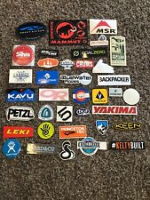 43 Outdoor Stickers Yakima Bca Princeton Tec Crazy Creek Necky Kayaks Msr Kelty