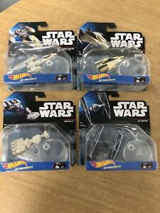 Star Wars Hot Wheels Starships bundle, Y Wing A Wing Tantive Tie Fighter