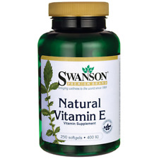 Swanson Natural Vitamin E 400 Iu (268 mg) 250 Sgels