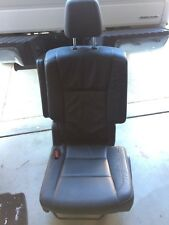 TOYOTA HIGHLANDER 2016 XLE 2ND ROW DRIVER LEFT SEAT BLACK LEATHER OEM
