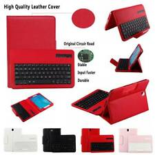 """For Samsung Galaxy Tab A S2 S3 9.7"""" Tablet Wireless Keyboard Leather Case Cover"""