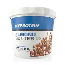 Myprotein Almond Butter Crunchy Mandelbutter (1kg Eimer)