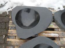 Becken aus poliertem Granit - Granittrog Vogeltränke Bachlauf Waschbecken - B101